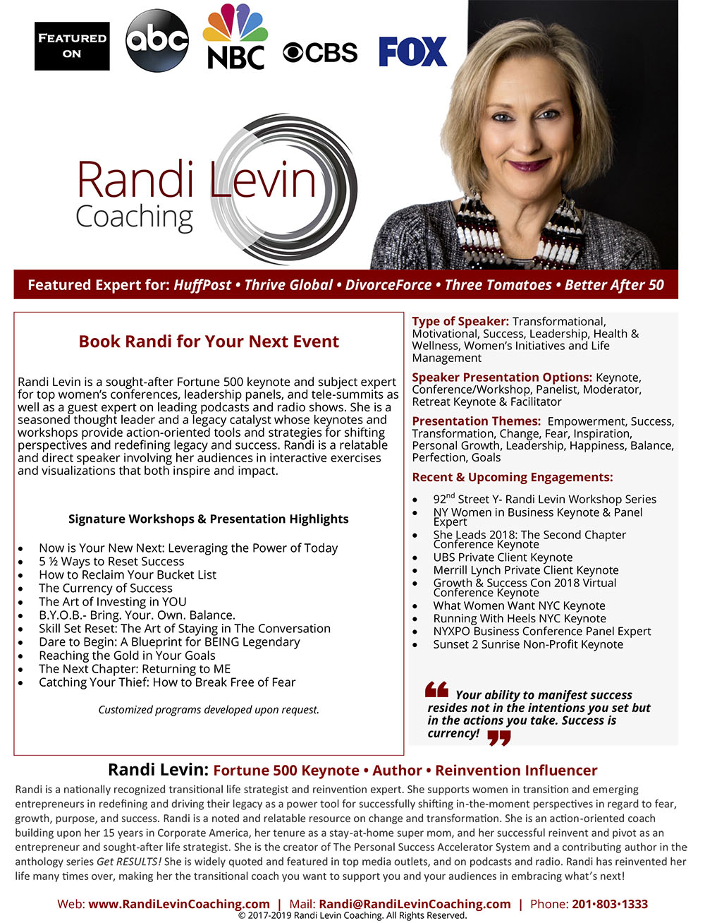 Please Click Below For A Full Size Downloadable Speaker One Sheet
